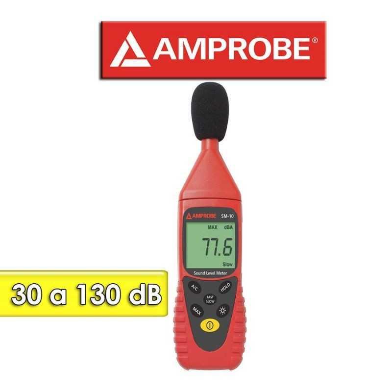 Decibelimetro - Amprobe - SM-10