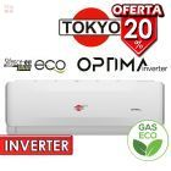 Aire Split INVERTER - 18.000 BTU F/C Gas Ecologico - Tokyo - OPTIMA INVERTER FH17-18CHRDI1