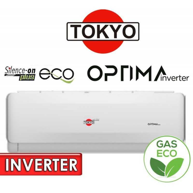 Aire Split - 24.000 BTU F/C Gas Ecologico - Tokyo - OPTIMA INVERTER AFH17-24CHRDI1