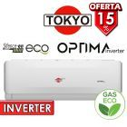 Aire Split - 12.000 BTU F/C Gas Ecologico - Tokyo - OPTIMA INVERTER AFH17-12CHRDI1