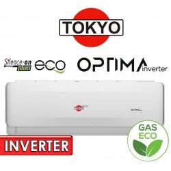 Aire Split INVERTER - 12.000 BTU F/C Gas Ecologico - Tokyo - OPTIMA INVERTER AFH17-12CHRDI1