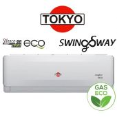 Aire Split - 12.000 BTU F/C Gas Ecologico - Tokyo - SWING SWAY AFH16-12CHR1