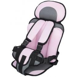 Asiento para auto para bebés y niños - Rosa - De 9 meses a 5 años