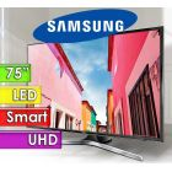 """TV Led UHD 75"""" Smart 4K - Samsung - Serie 6 UN75MU6100GXPR"""