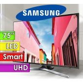 "TV Led UHD 75"" Smart 4K - Samsung - Serie 6 UN75MU6100GXPR"