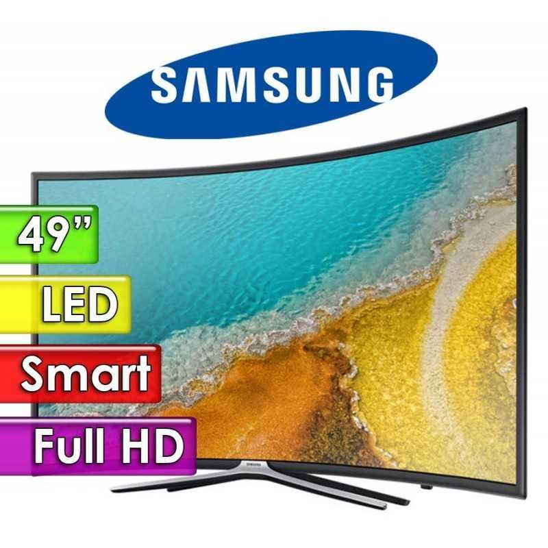 "TV Led Full HD 49"" Smart Curvo - Samsung - Serie 6 UN49K6500AGXPR"