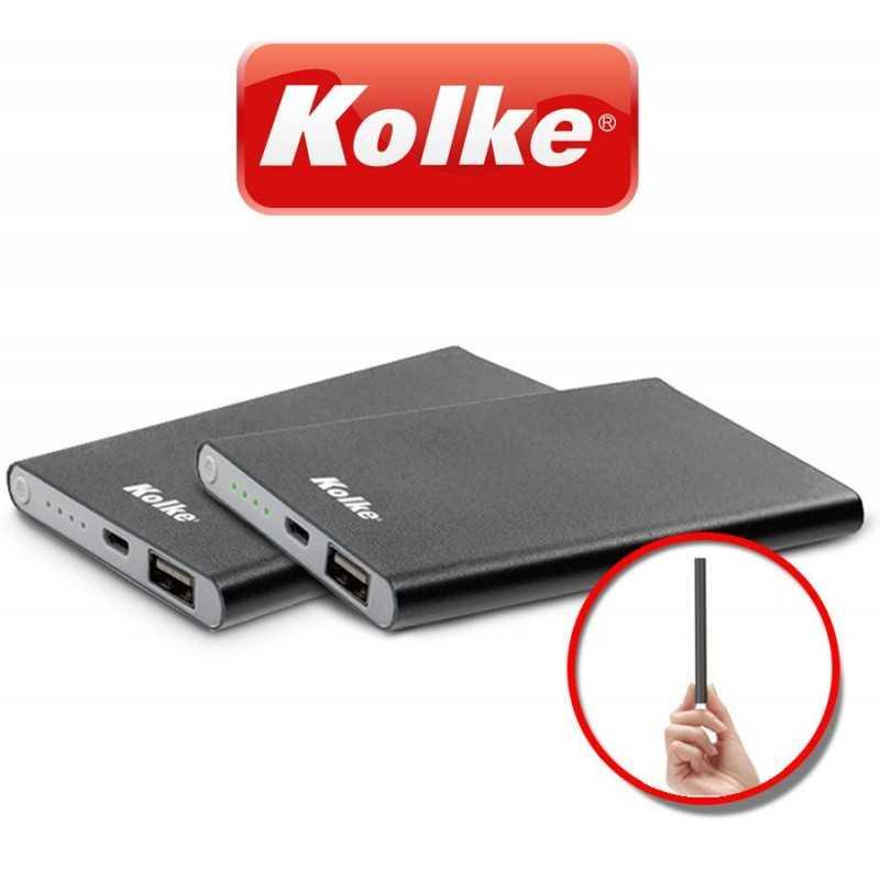 Cargador Portátil Slim 8.800MAH - Kolke - Power Bank KPB-880