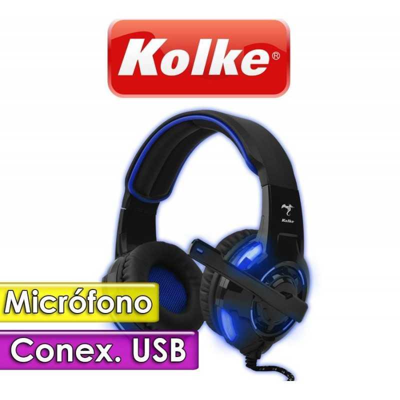 Auricular Gamer con Microfono- Kolke - 7.1 HUMMER KA-571V