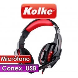 Auricular Gamer con Microfono USB - Kolke - 7.1 Cobra KA-572