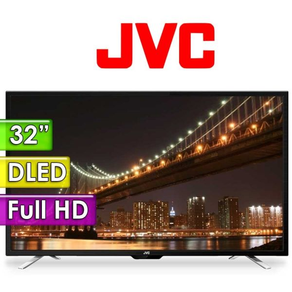 "TV Led Full HD 32"" - JVC - LT32N355"
