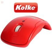 Mouse Optico Inalambrico Plegable - Kolke - KM-100