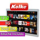 "Tablet 10,1"" Dual SIM 3G - Kolke - ENTERTAINMENT KTG-102 con Estuche"