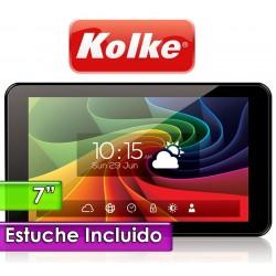 """Tablet 7"""" - Kolke - 7QC8 - Con estuche con teclado"""