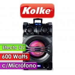 Parlante - Kolke - DJ Mixer Pro KPG-103 - 600 W