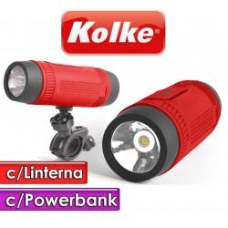 Parlante - Kolke - OUTDOOR 5 en 1 KOP-016 - Con Soporte para bicicleta