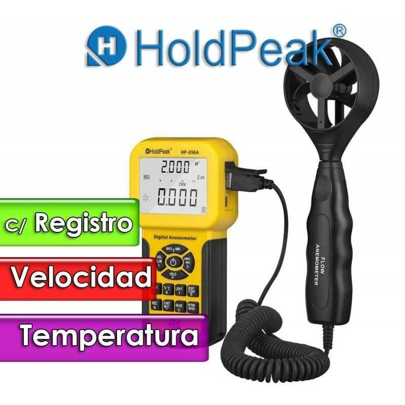 Termo Anemometro - Hold Peak - HP-856A