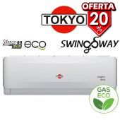 Aire Split - 24.000 BTU F/C Gas Ecologico - Tokyo - SWING SWAY AFH17-24CHR1