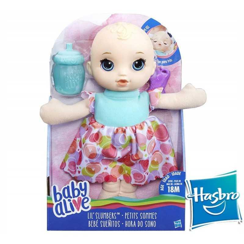 Baby Alive Bebé Sueñitos Rubia - Hasbro - Lil Slumbers