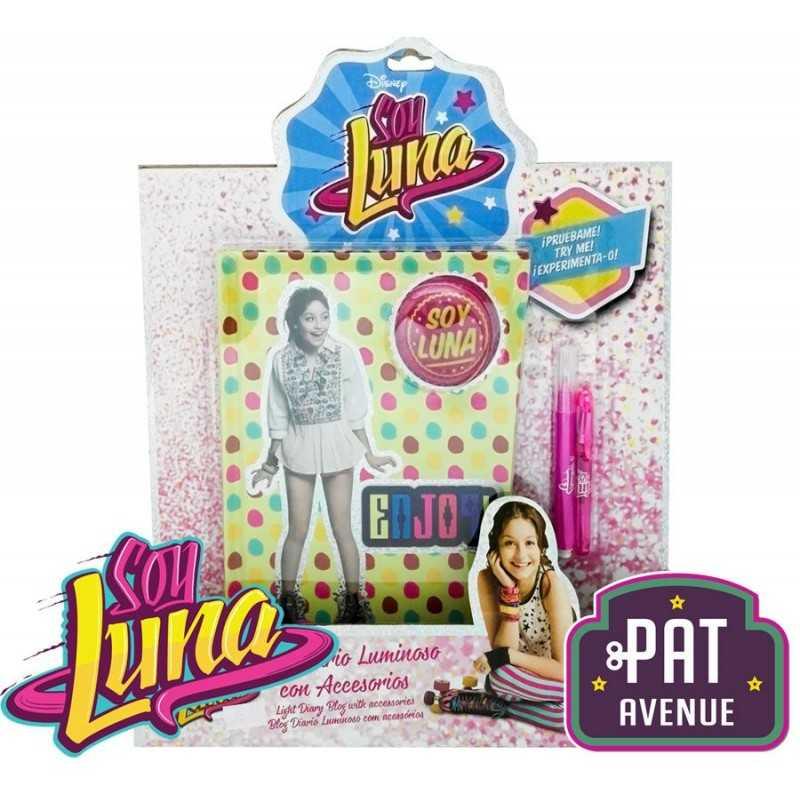Blog Diario Luminoso con Accesorios Soy Luna - Pat Avenue