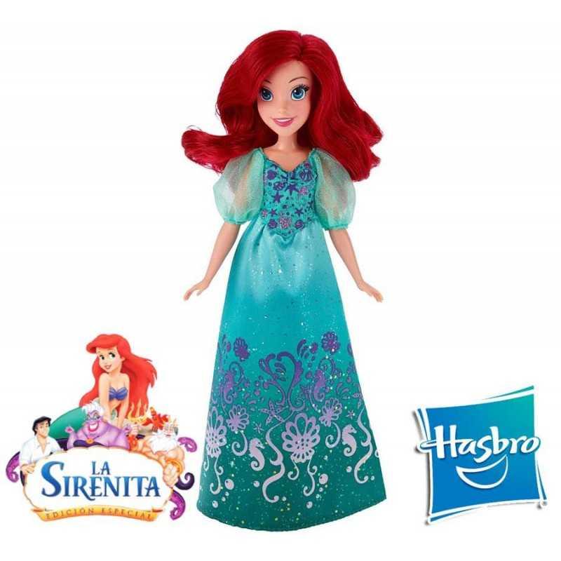 Muñeca Ariel Royal Shimmer Disney Princess - Hasbro