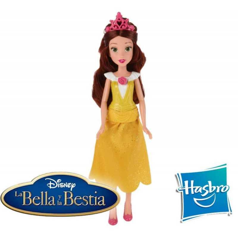 Muñeca Bella Clásica Disney Princess - Hasbro