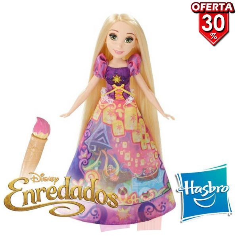 Muñeca Rapunzel Falda Magica Disney - Hasbro