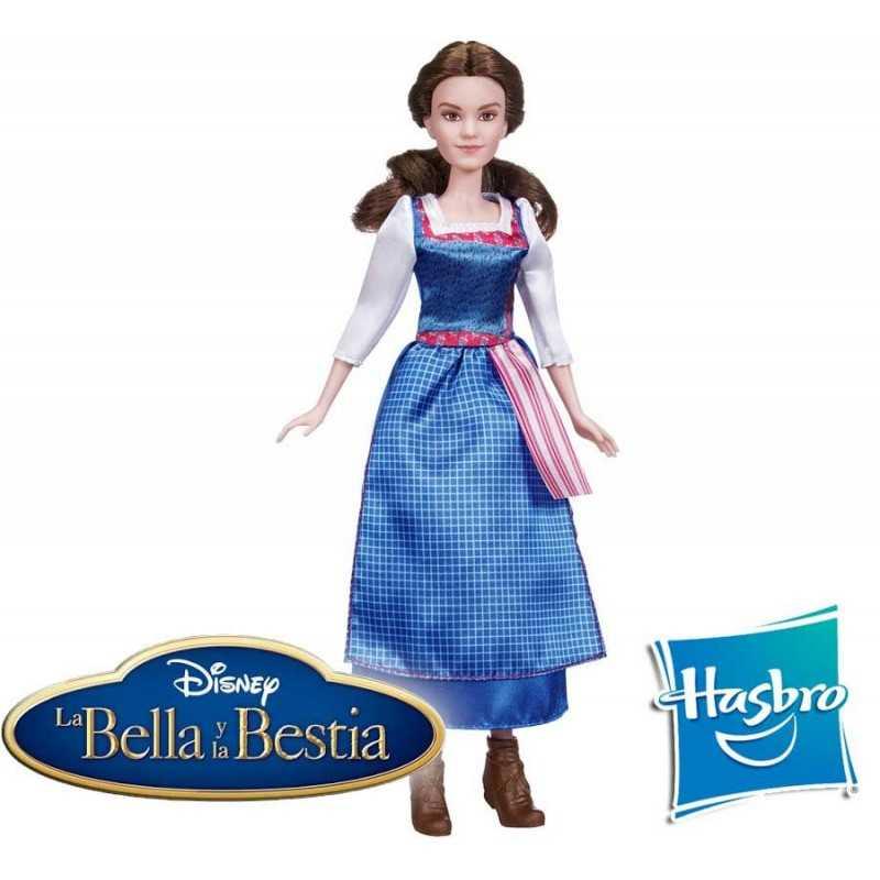 Muñeca Bella Vestido de la Aldea Disney - Hasbro