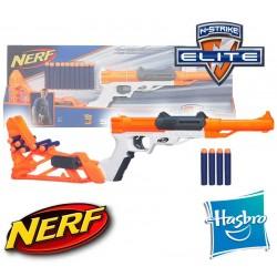Lanzador 6 en 1 Nerf N-Strike Sharpfire - Hasbro