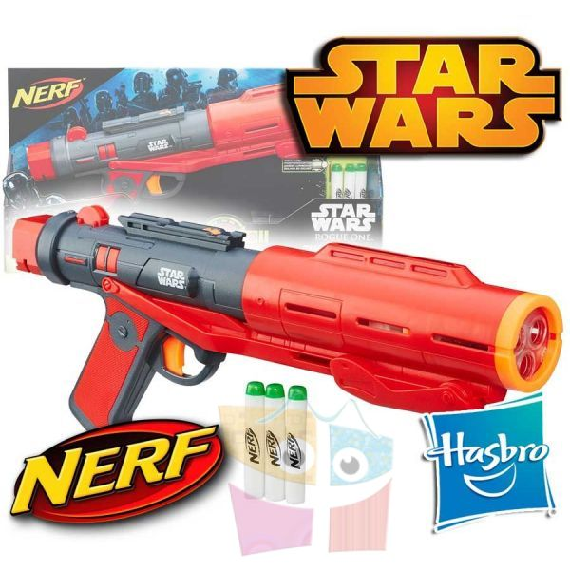 Rifle Laser de Lujo Star Wars Imperial Death Trooper  Nerf - Hasbro