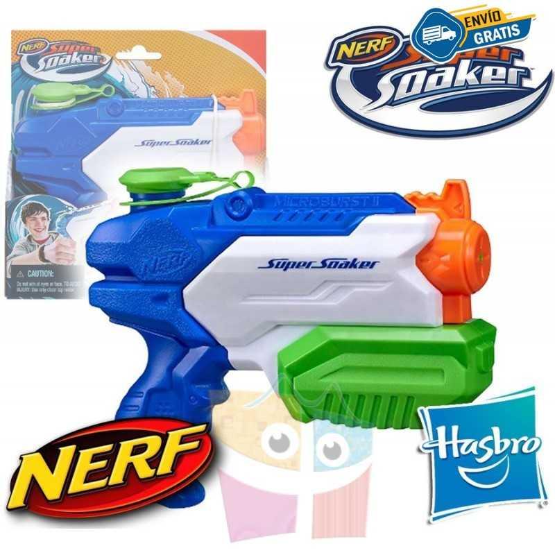 Lanzador de Agua Nerf Supersoaker Microburst II - Hasbro