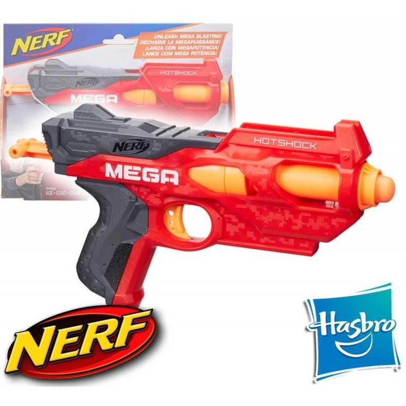 Lanzador Nerf N-Strike Mega Hotshock - Hasbro