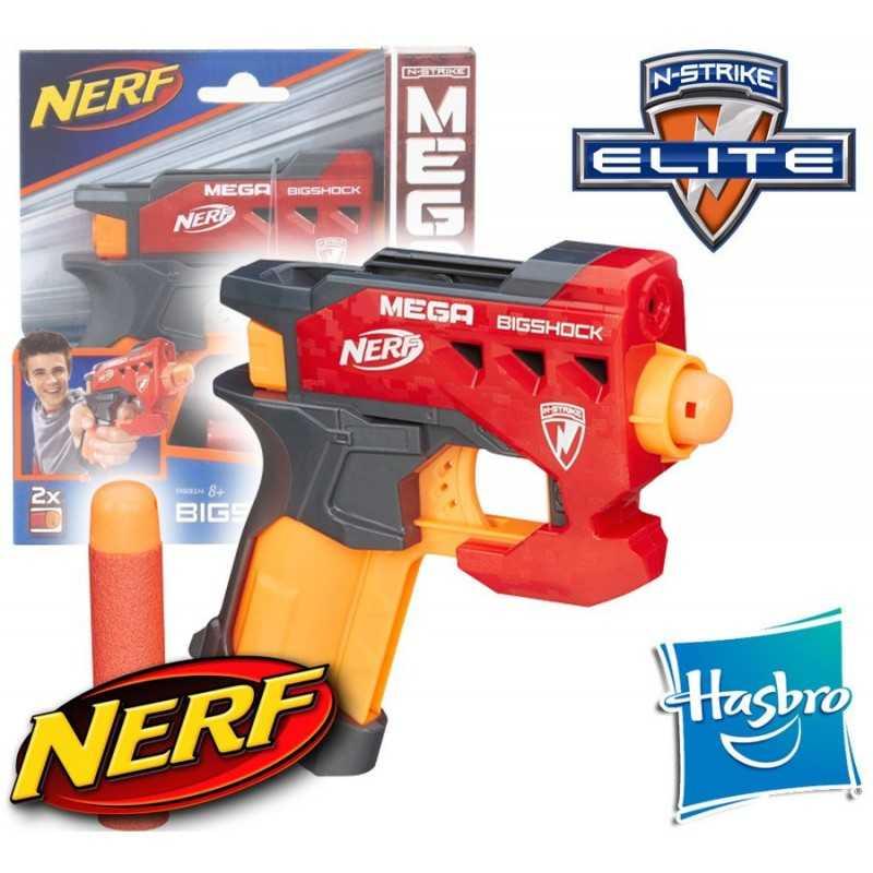 Lanzador Nerf N-Strike Mega Bigshock - Hasbro
