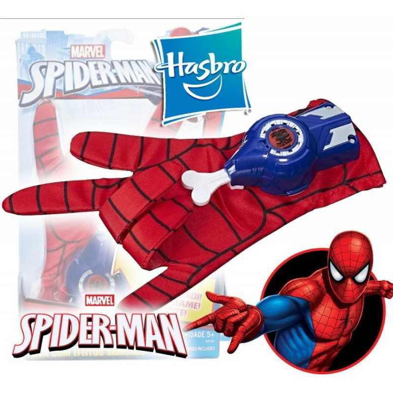 Guante de Spiderman con Efectos de Sonido - Hasbro