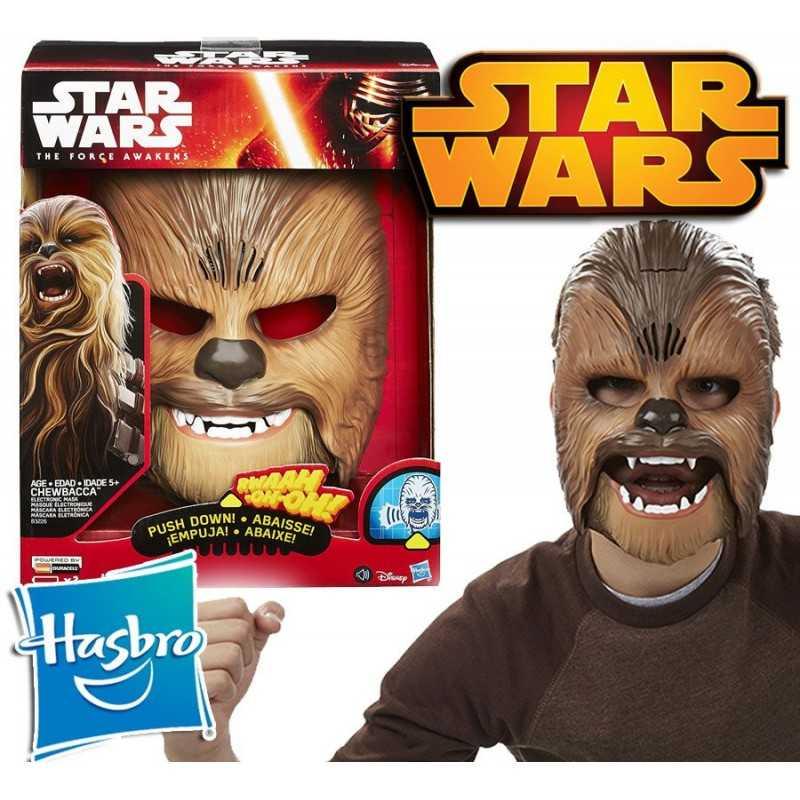 Máscara con Sonido de Chewbacca Star Wars - Hasbro