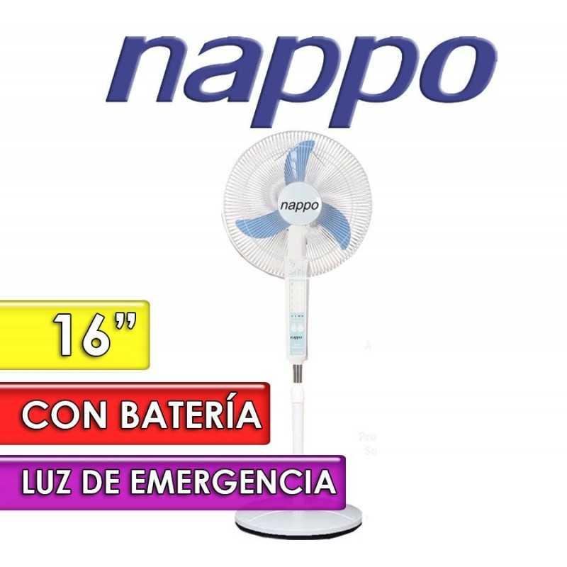 Ventilador de Pie con Bateria Recargable - Nappo - VNAPPO-01