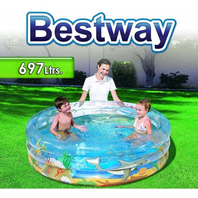 Piscina Bestway - 697 Ltrs. Infantil Vida Marina - Inflable - 51048
