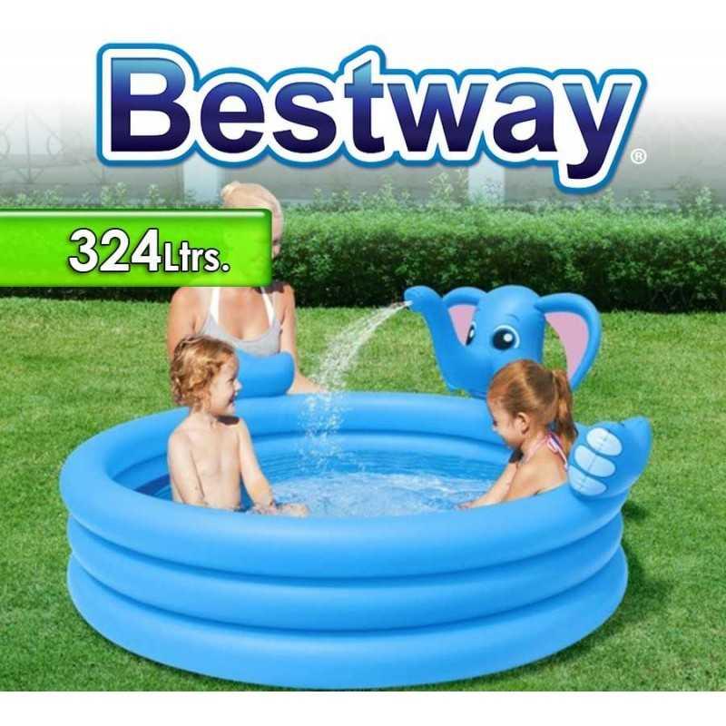 Piscina Bestway - 324 Ltrs. Infantil Elefante - Inflable - 53048