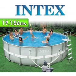 Piscina Intex - 19.156 Ltrs. - Redonda - Estructura Metálica - 28324