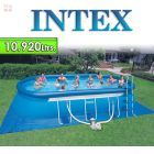 Piscina Intex - 10.920 Ltrs. - Ovalada - Con borde inflable - 28192