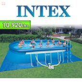 Piscina Intex - 28192 -  10.920 Ltrs. - Ovalada - Con borde inflable + Inflador