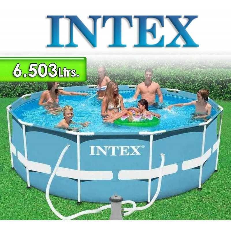 Piscina Intex - 6.503 Ltrs. - Redonda - Estructura Metálica - 28712