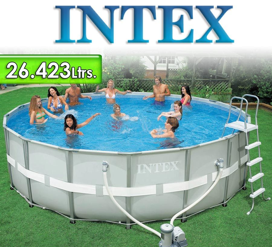 Excepcional Intex 18 X 48 Críticas De Ultra Piscina De Estructura ...