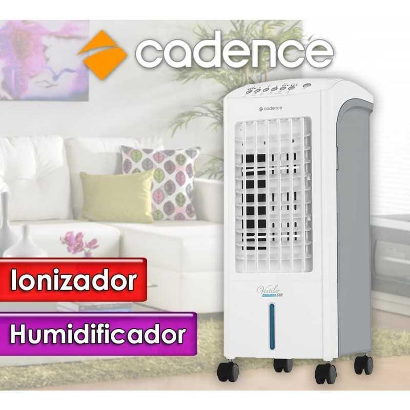 Climatizador 4 en 1: climatizador, sistema de recirculación, humidificador de aire y los iones emisores - Cadence - CLI508