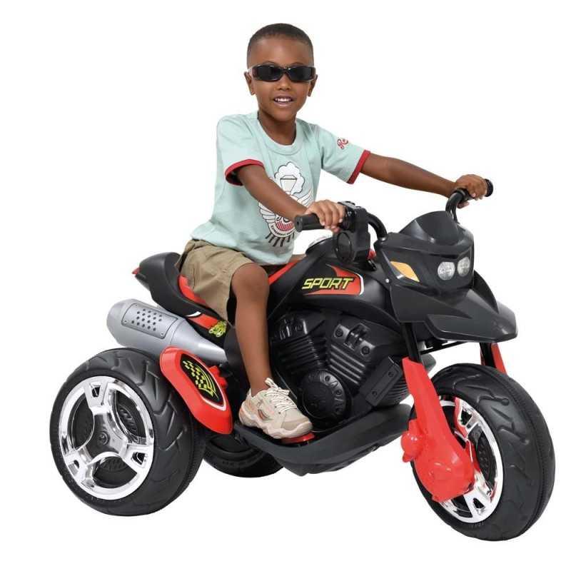 Moto Sport Electrica Negra - Bandeirante - 2760