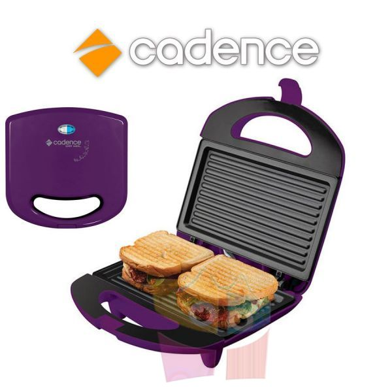 Sandwichera Minigrill Colors Lila - Cadence - SAN232