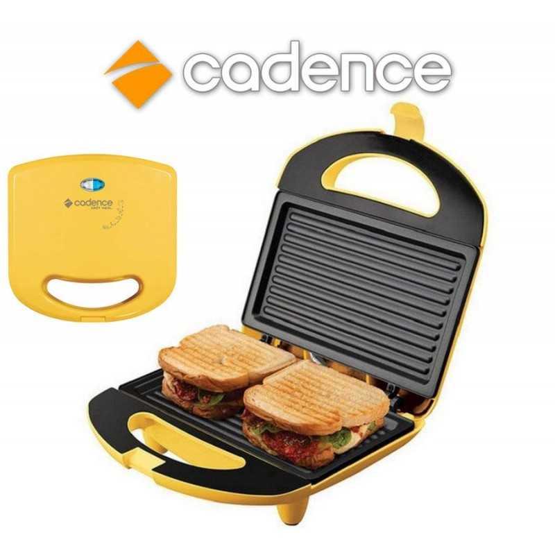 Sandwichera Minigrill Colors Amarilla - Cadence - SAN234
