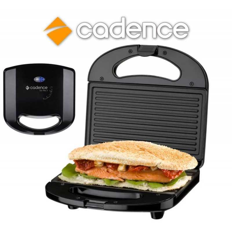Sandwichera Minigrill Easy Meal II Negra - Cadence - SAN253