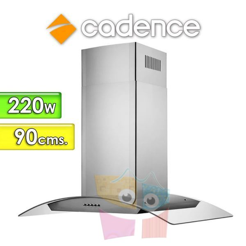 Campana Extractora de Cocina Gourmet 90 Cms. - Cadence - CFA390