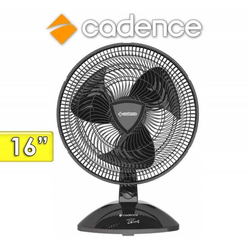 Ventilador de Mesa Ventilar Eros Negro 40 Cms - Cadence - VTR404 - 16 Pulgadas