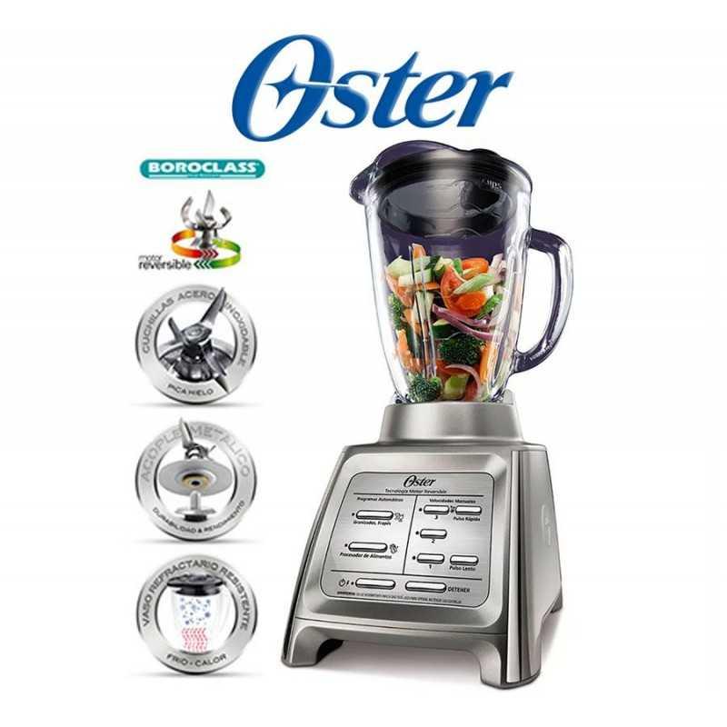 Licuadora Línea Gourmet Collection Plateada - Oster - BLSTRM-DZ0-051